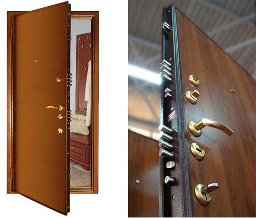 Стальные двери - надежная защита квартиры и офиса