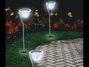 уличные светододные светильники на даче