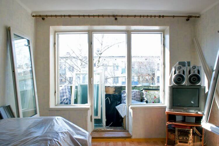 Как подготовить квартиру к демонтажу старых окон